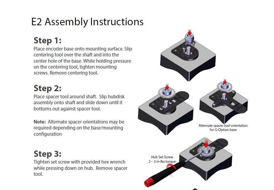 E2 Assembly Instructions