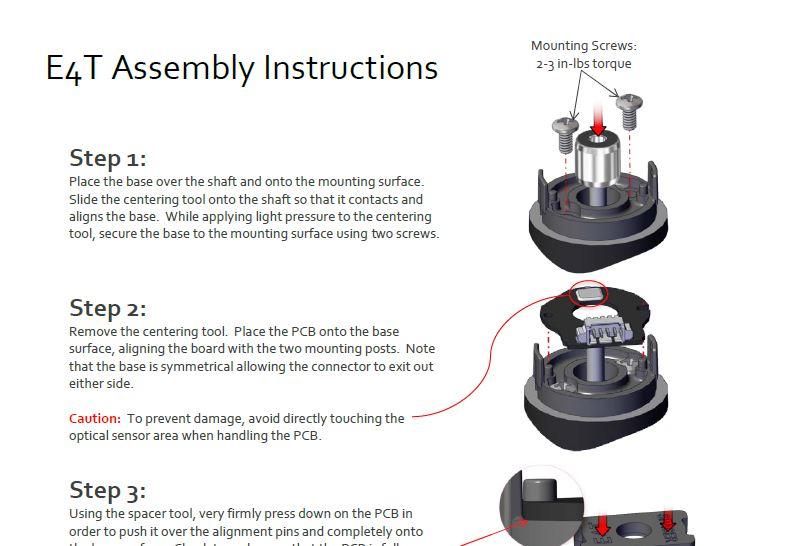 E4T Assembly Instructions