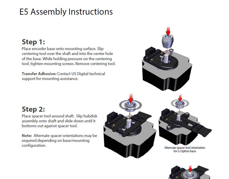 E5 Assembly Instructions