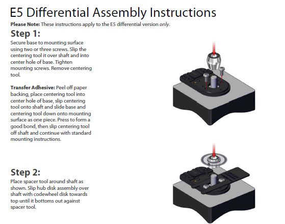 E5D Assembly Instructions