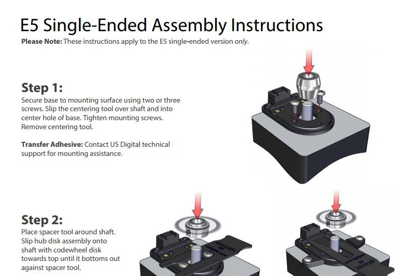 E5S Assembly Instructions