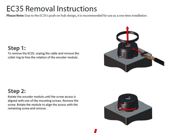 EC35 Removal Instructions