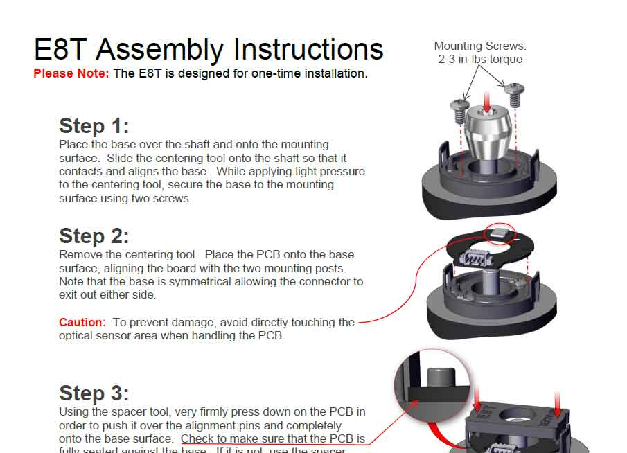 E8T Assembly Instructions