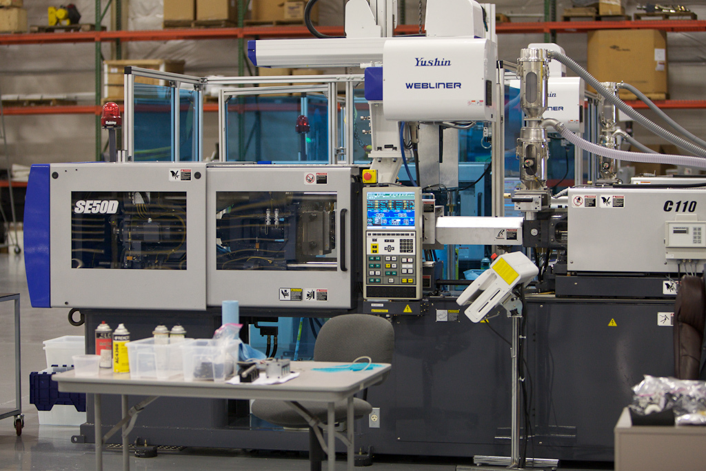 US Digital® | Company » Manufacturing: Injection Molding