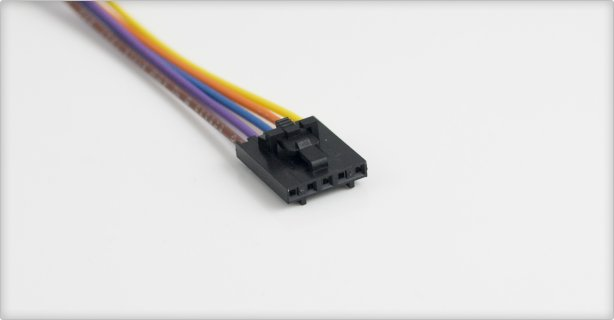 5 Pin Connector Cable : Us digital products ca fc w nc pin latching