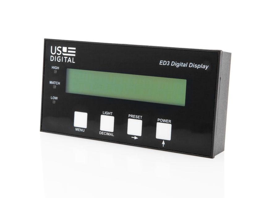 US Digital® | Products | ED3 | Digital Encoder DisplayUS Digital