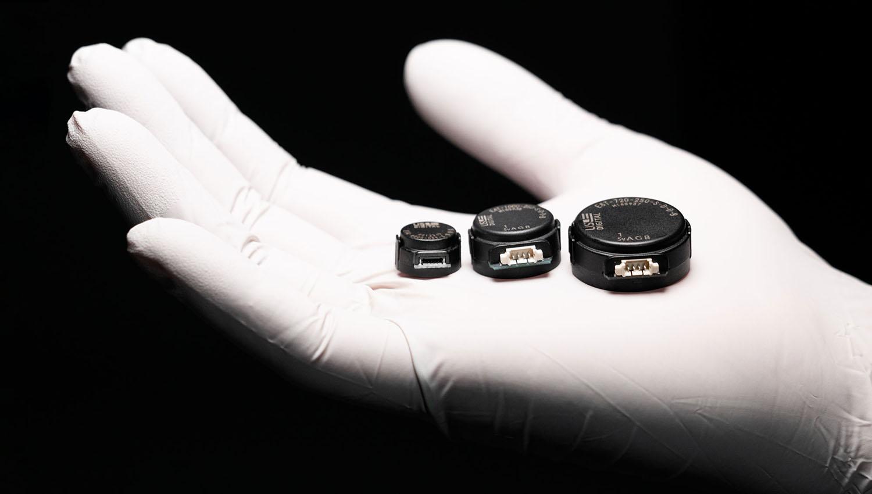 US Digitals E16, E4T and E8T series of small rotary encoders.
