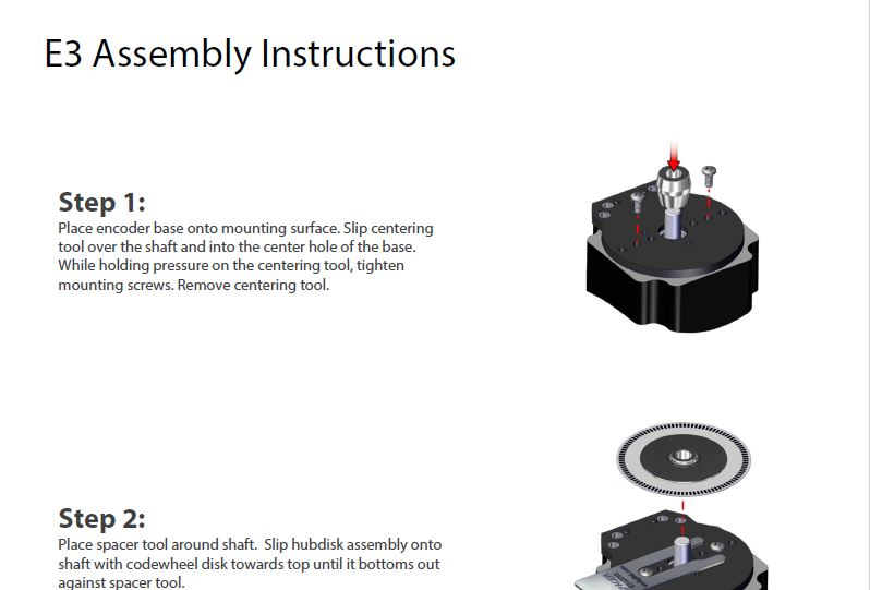 E3 Assembly Instructions