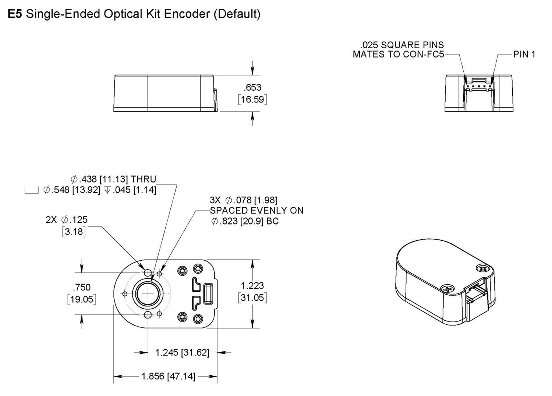 E5 Mechanical Drawing