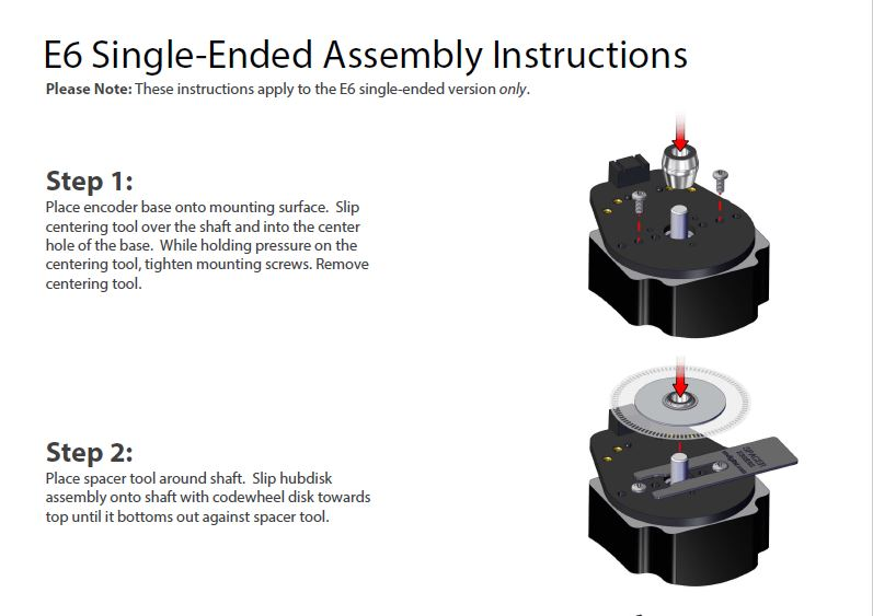 E6 Single-Ended Assembly Instructions