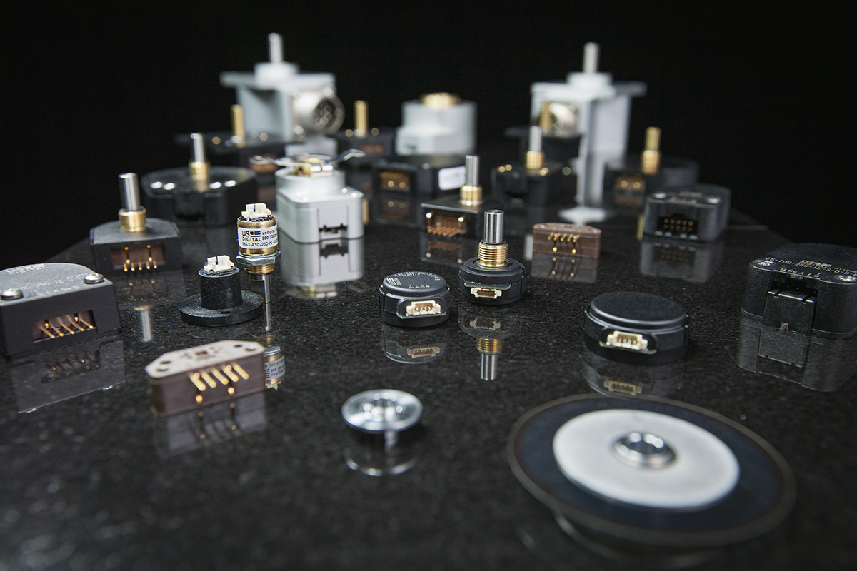 Encoders come in a variety of configurations, but they all translate phyiscal motion into an electric signal that can be interpreted by a motion control system.