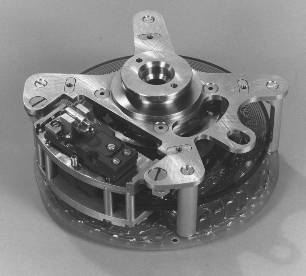 First LED encoder used in space