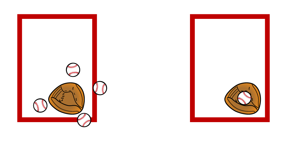 illustration demonstrating accuracy